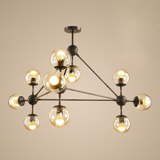 Amber Glass Hanging Lamp Designers, Modern Glass Hanging Lamps