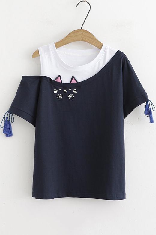 Astronaut Shirt Top Womens Cute Round Neck T Shirt Girls Short Sleeve Graphic Print Tee Blouse
