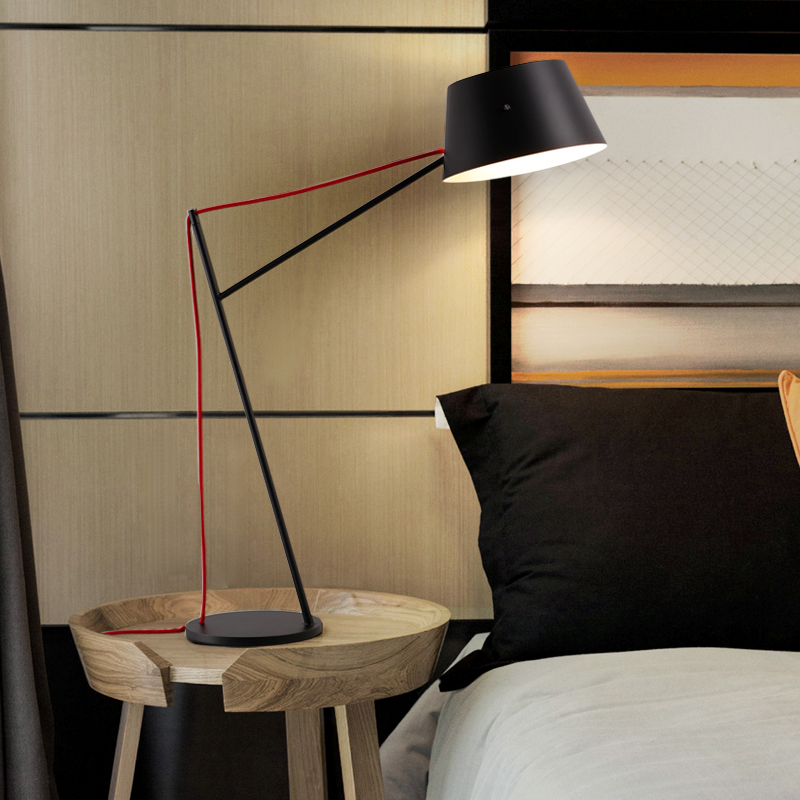 Shade Table Lamp Designers Style Metal
