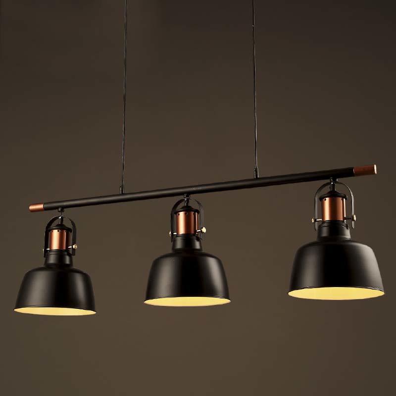 39'' Wide Three Light 1 Tier LED Island Chandelier in Black Finish