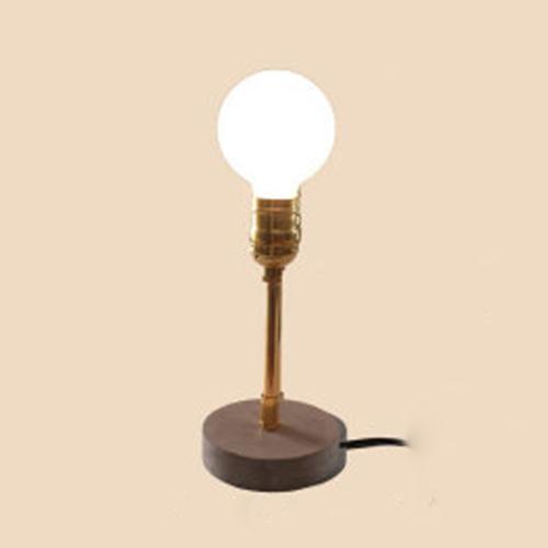 Desk Lamp In Open Bulb Style