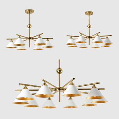 Beautifulhalocontemporary Living Room Lighting 6 8 10 Light Metal Saucer Downligting Chandelier In Gold Painted Finish Dailymail