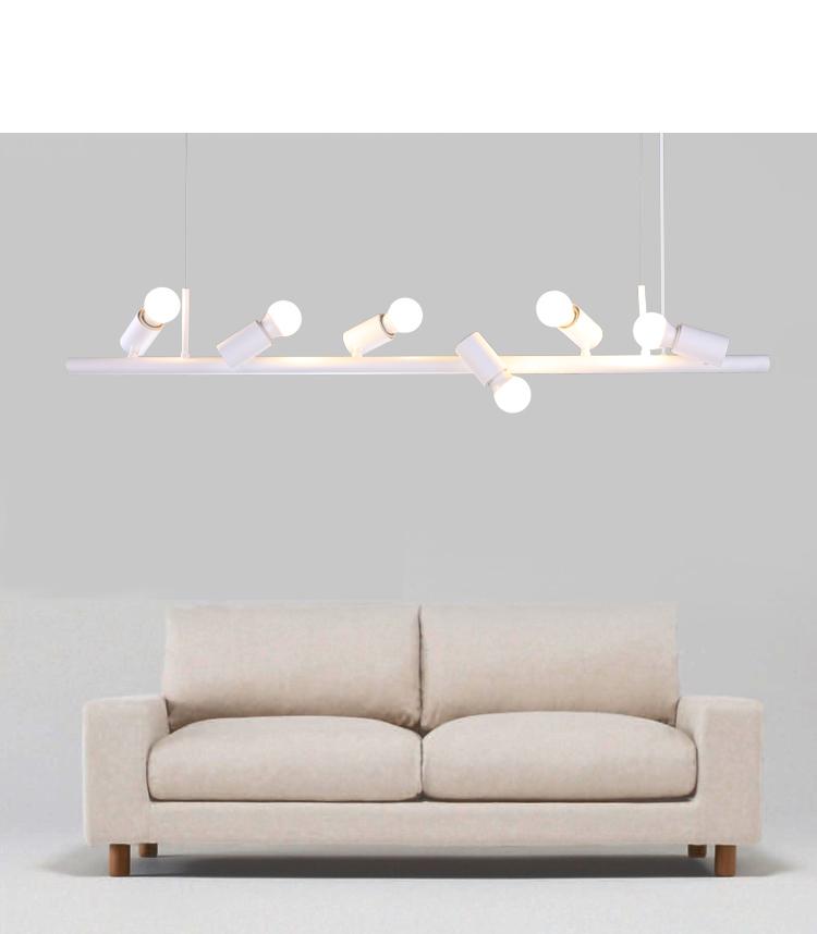 Led Bulbs Island Light White 8-Light