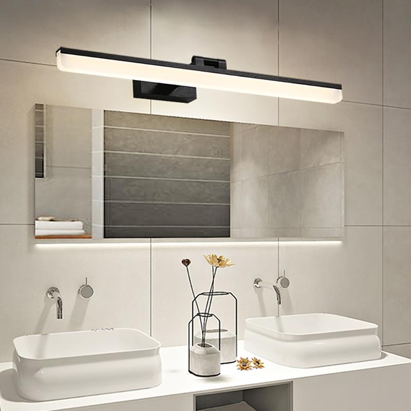 Adjustable Linear Vanity Mirror Light, Wall Mirror Lights Bathroom