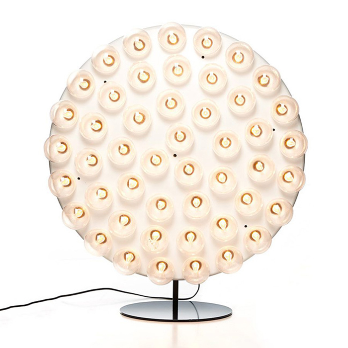 Prop Round Table Lamp