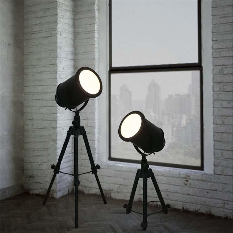 Useful Designer Adjustable Table Lamp in Black Finish